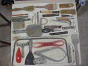 A selection of workshop tools